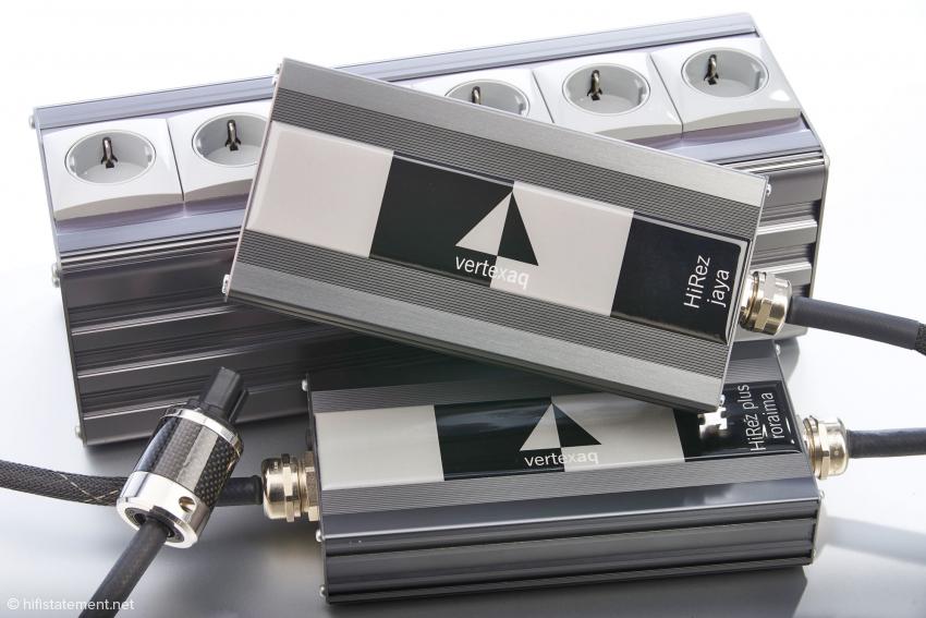 Neben den hier gezeigten Geräten der HiRez Top-Line gibt es noch einfachere Ausführungen unter der Bezeichnung Silver und Standard mit nicht unerheblichen Preisunterschieden.