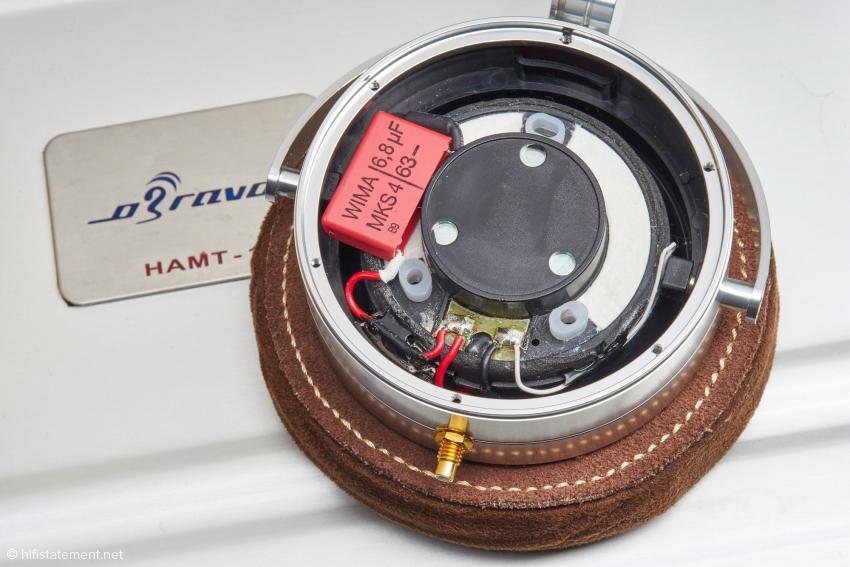 Ein Wima-Kondensator schützt den Air-Motion-Transformer vor tiefen Frequenzen
