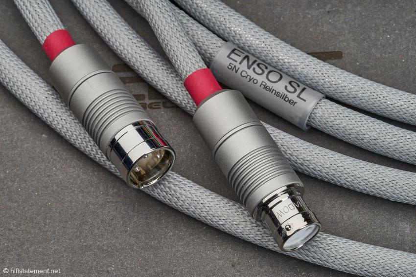Reinsilber NF-Kabel Enso SL in der XLR-Ausführung