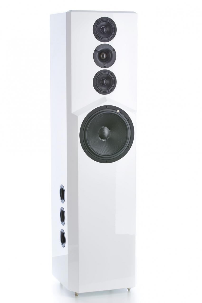 Form follows function: Die eleganten, schlanken und zeitlos schönen Genuin Pulse Lautsprecher bereichern jeden Wohnraum