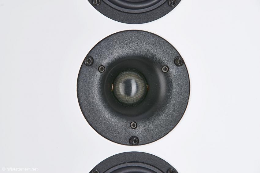 Morel Gewebemembran-Hochtöner mit spezieller Schallführung