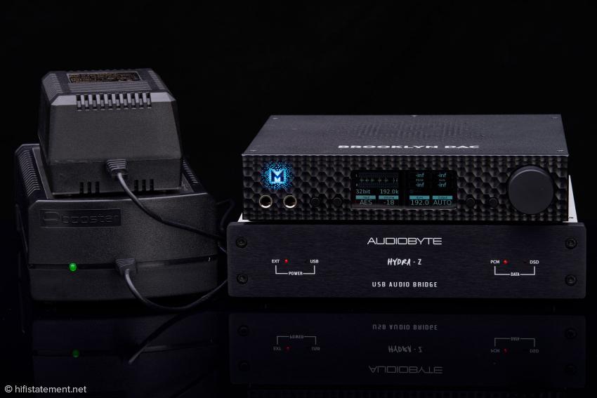 SBooster-Netzteile helfen dem Audiobyte und dem Brooklyn klanglich auf die Sprünge. Doch Achtung: Die kleine Version wird momentan nicht produziert. Noch gibt es Restbestände beim Vertrieb – und vielleicht auch bei einigen Händlern