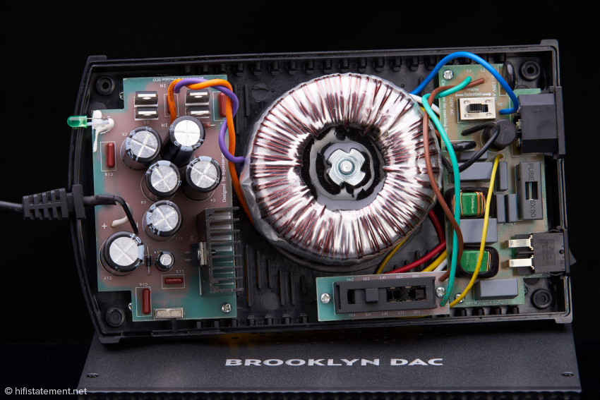 """Das """"große"""" SBooster BOTW P&P Eco mit seinem mächtigen Ringkerntrafo scheint mir für die Versorgung des Audiobyte leicht überdimensioniert und auch preislich nicht ganz passend zu sein"""