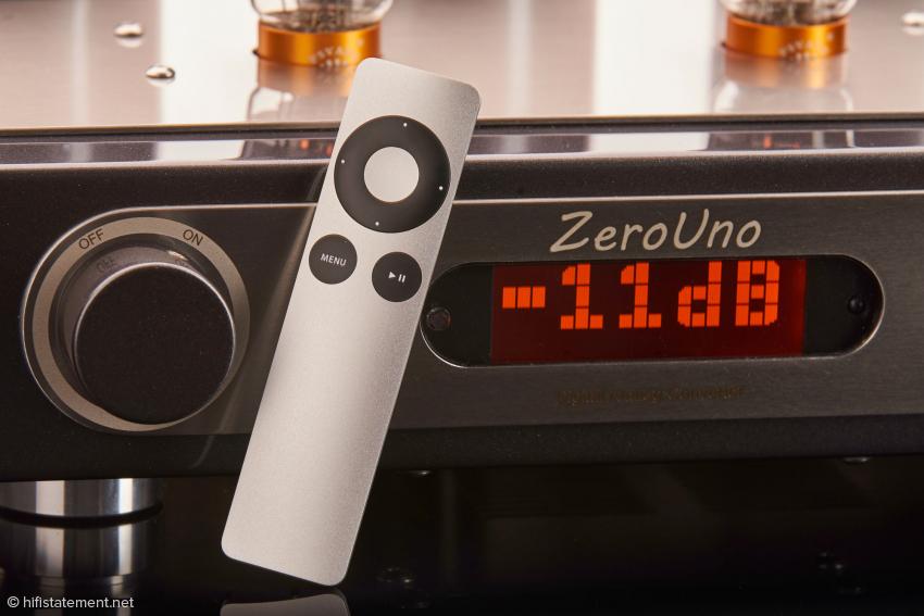 Apple Remote Fernbedienung für den ZeroUno