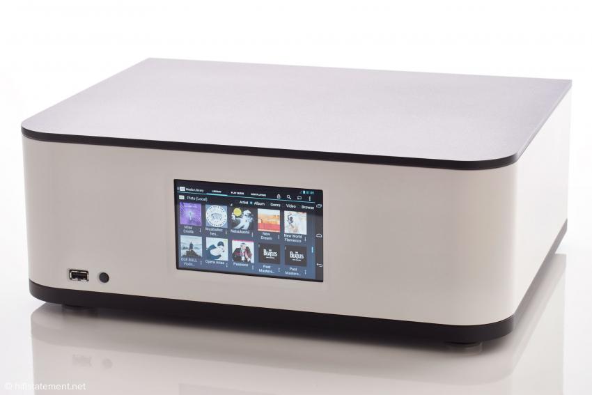 Keine Regler und Schalter: die Steuerung des Plato erfolgt ausschließlich über das Touchscreen-Display oder ein Tablet