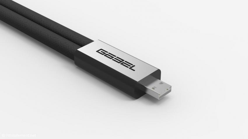 Lacorde Statement USB perspective.jpg<br />So soll das Kabel einmal aussehen. Das ist hier kein Bild, sondern eine Simulation aus dem Computer. Die beiden Leitungen sind deutlich dünner als beim Prototpyen. Wir werden Ihnen natürlich auch die endgültige Variante vorstellen