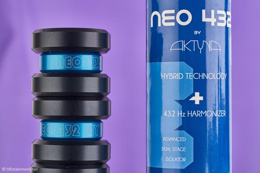 Aktyna NEO 432 mit der 3er-Set-Verpackung