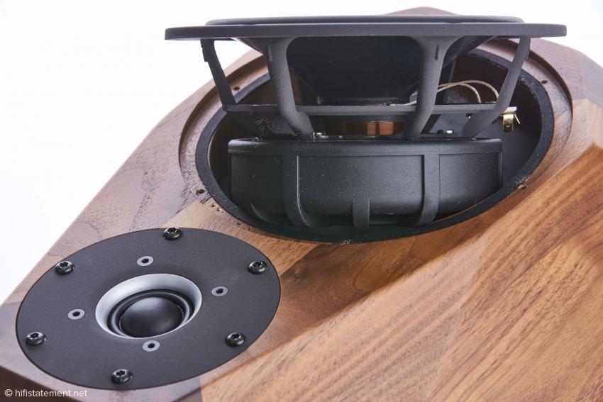 Auch den Tief-Mittel-Töner liefern die Norwegischen Lautsprecherspezialisten zu