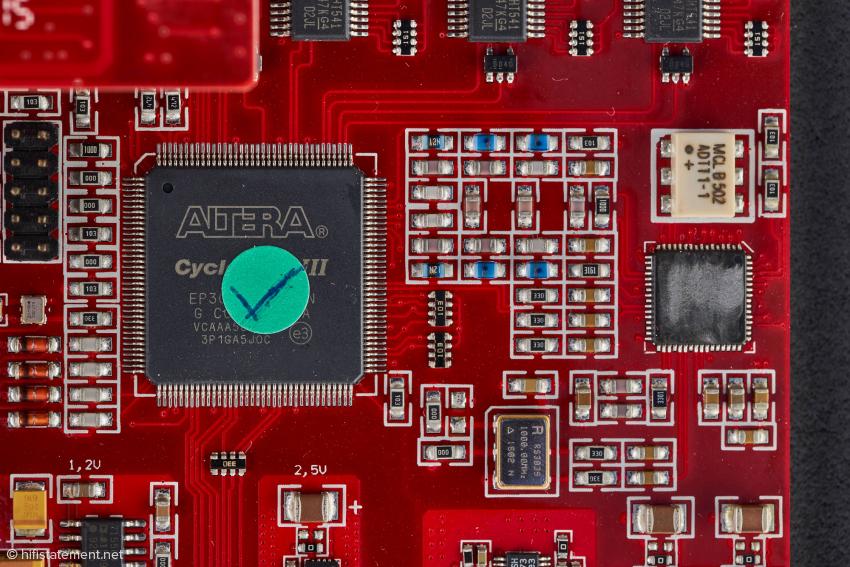 Im MC-3+ USB wird neueste FPGA-Technologie eingesetzt