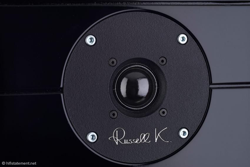 Versenkter 25-MillimeterGewebehochtöner mit einem Doppelferrit-Magneten