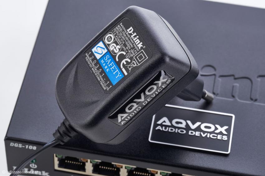 Das zum Switch passende und optimierte externe Netzteil