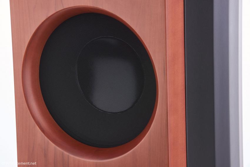 Der 30-Zentimeter-Bass wurde von Zingali entworfen und exklusiv von einem führenden italienischen Hersteller aus dem Professional-Bereich gefertigt