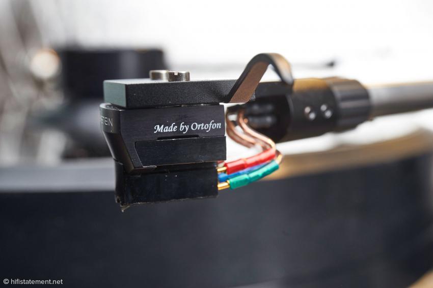Volker Bohlmeier ließ The Pickup von Ortofons Entwicklungschef Leif Johannson nach seinen Klangvorstellungen bauen