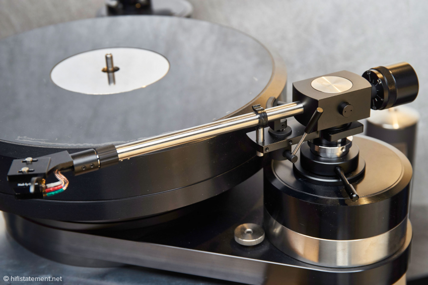 A classic appearance: The Tonearm in the nine-inch version.
