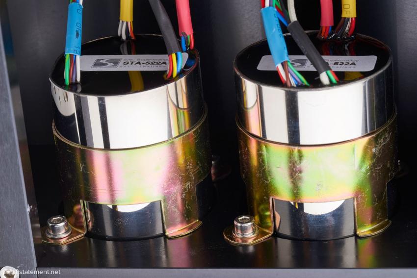 Die beiden Übertrager/Lautstärkeregler