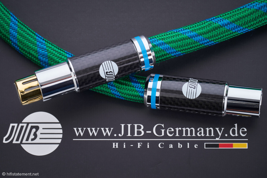 The AES/EBU cable is not only optically exceptional