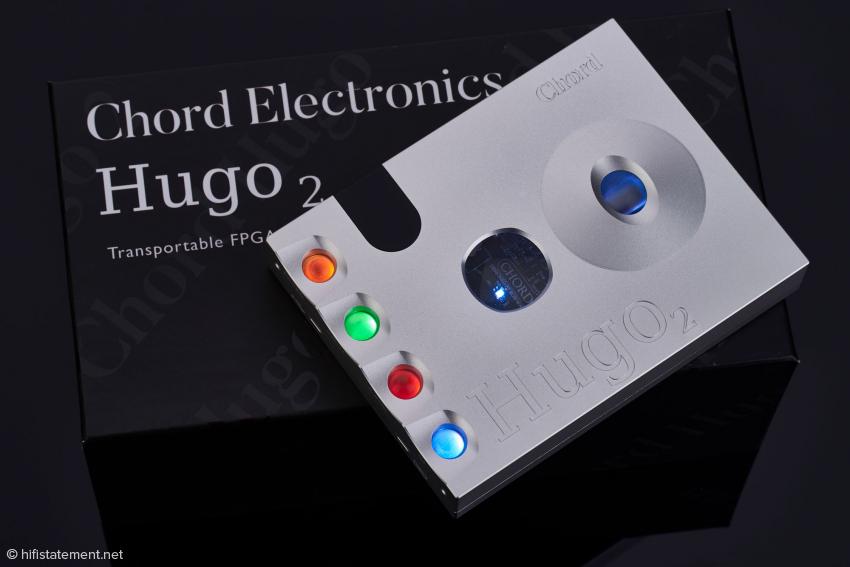 Der Hugo 2 mit den vier beleuchteten Schaltern