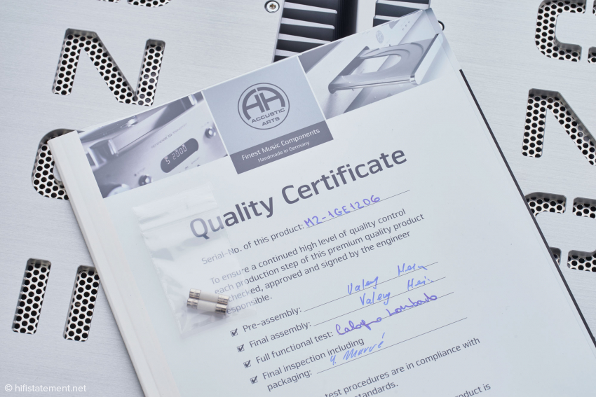 Accustic Arts is committed to the highest quality standards