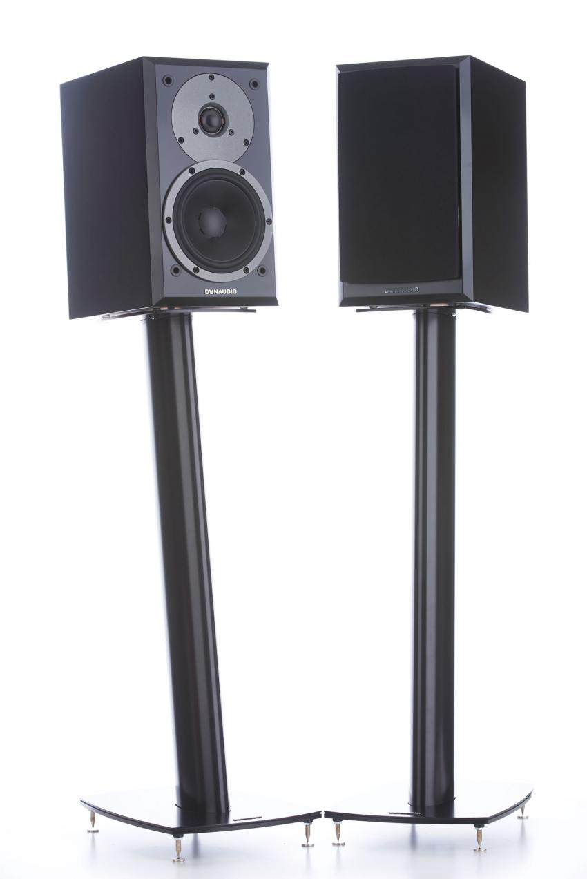 Formschön und stabil ist der optionale Ständer Dynaudio Stand 3X