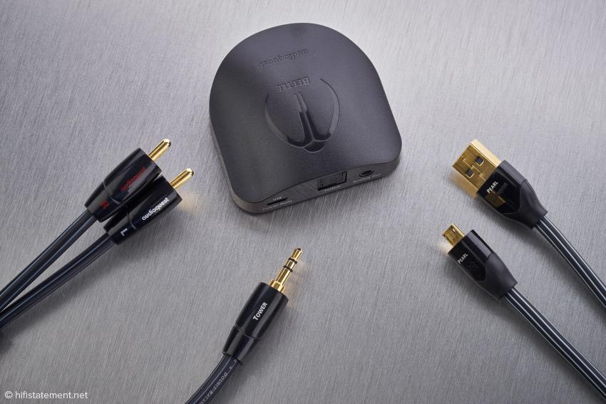 Audioquest hält das Tower NF- und das Pearl USB-Kabel für geeignete Spielpartner des Beetle