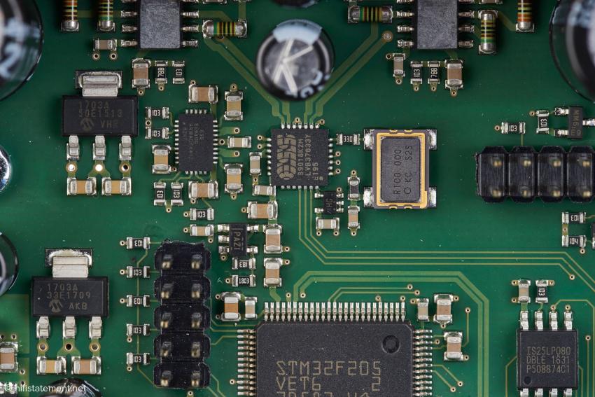 Der ESS ES9018K2M SABRE Digital/Analog-Wandler wurde bereits in der ersten Brooklyn DAC Generation eingesetzt und hat seinen Weg jetzt in den Liberty DAC gefunden