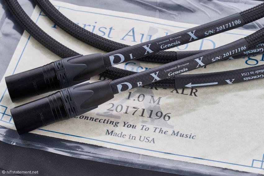 Die Genesis XLR-Verbindung kam zwischen Phonostufe und Vorverstärker zum Einsatz. Einen klanglichen Unterschied zur Cinch-Verbindung konnte ich nicht ausmachen