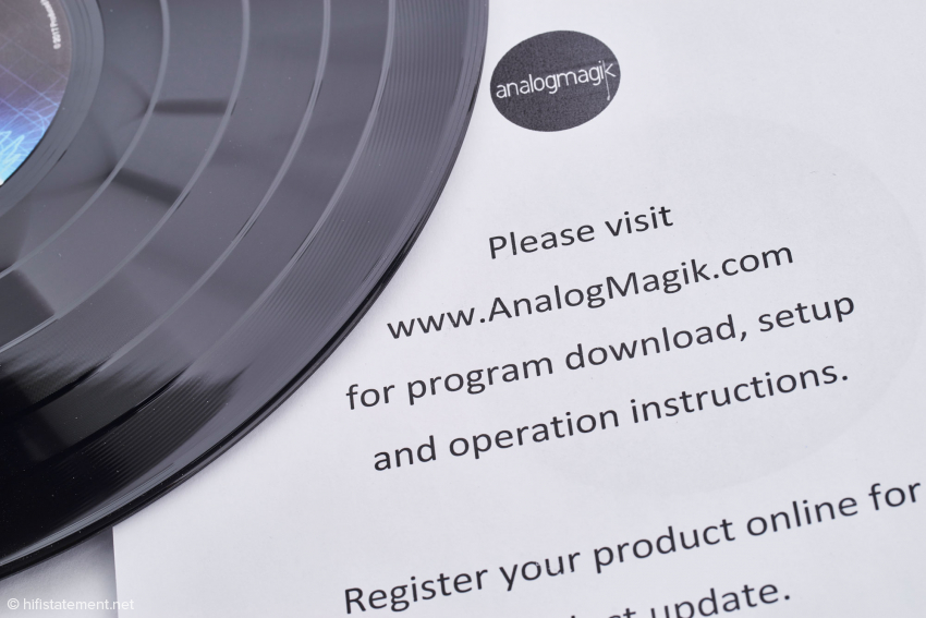 Auf der Website von Analogmagik finden Sie auch Videos, die die Verwendung des Programms erläutern