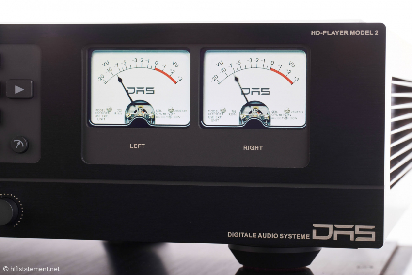 The VU-meters