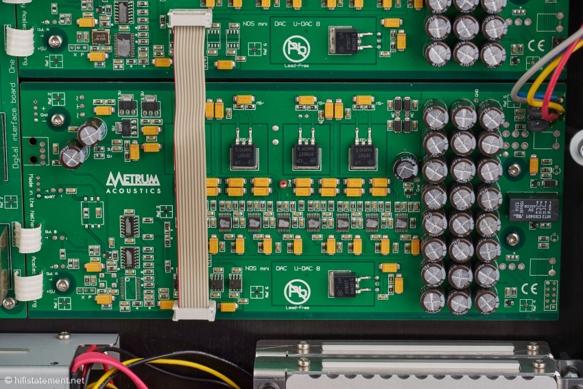 One of the mono DAC boards