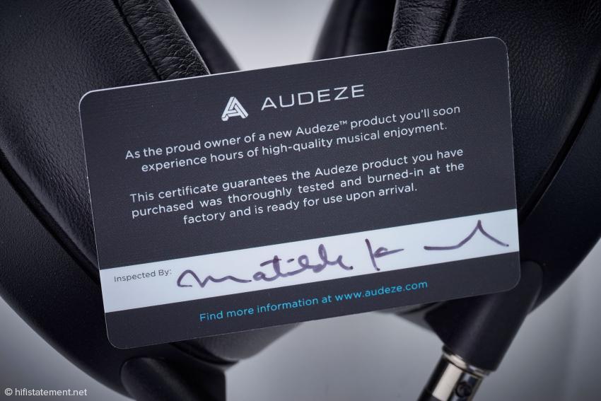 Mit diesem Zertifikat unterstreicht der Hersteller seinen hohem Qualitätsanspruch