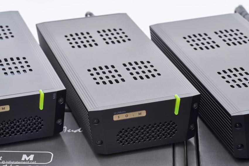Hub tX-USBultra von vorne