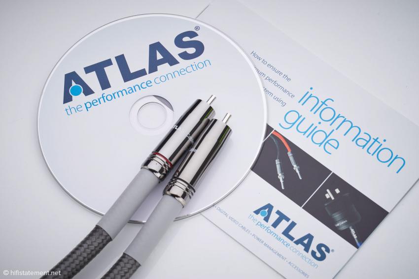 Dem Atlas Ascent Ultra liegen auf einer CD besondere Töne bei
