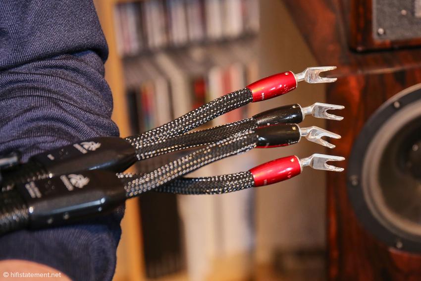 Die Low-Z-Technologie kommt im Bi-Wiring-Kabel nur im Tieftonbereich zum Einsatz