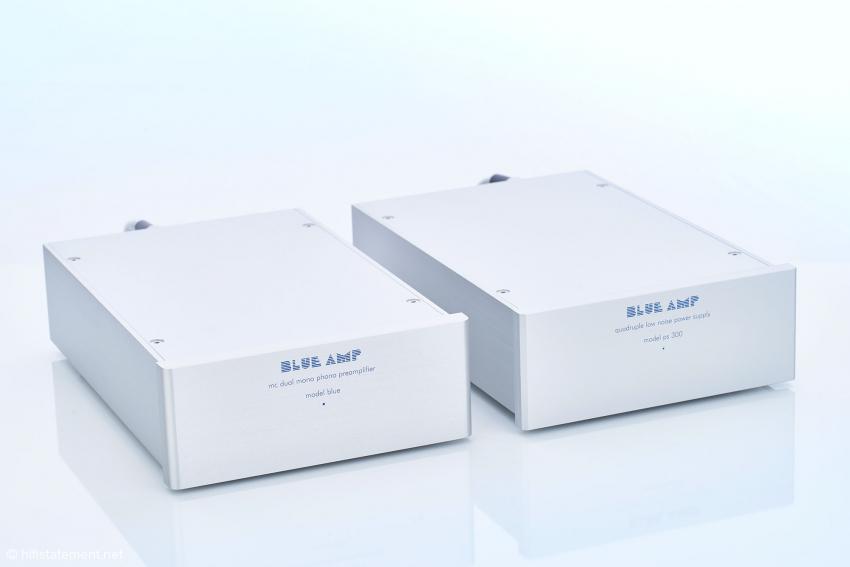 Die Kombination aus dem Phonoteil model blue MKII mit dem Netzteil ps300 ist praktisch die Referenz in diesem Vergleich