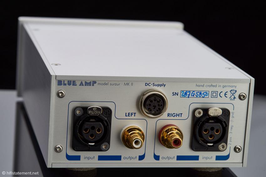 Beide Phono-Vorverstärker benötigen dank ihrer symmetrischen Eingänge keine Erdungs-Anschlüsse – es brummt nichts