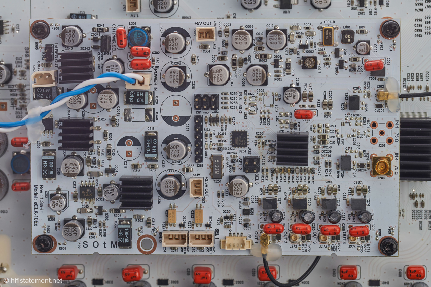 Das Clock-Board im Detail