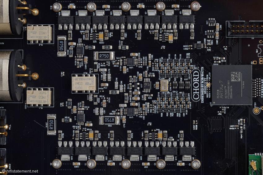 Die Ausgangssektion des Hugo TT 2 mit den 16 bipolaren Leistungstransistoren