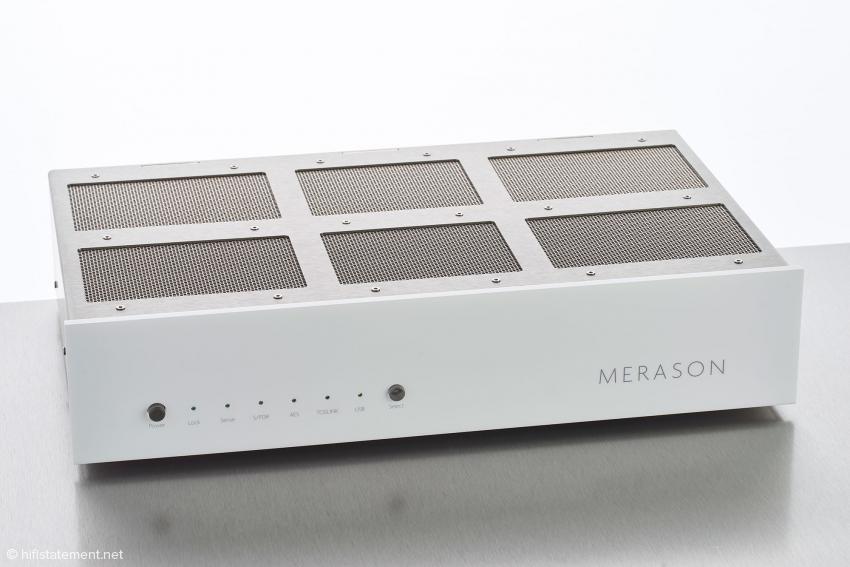Schlicht und funktional ist das Design des Merason DAC-1