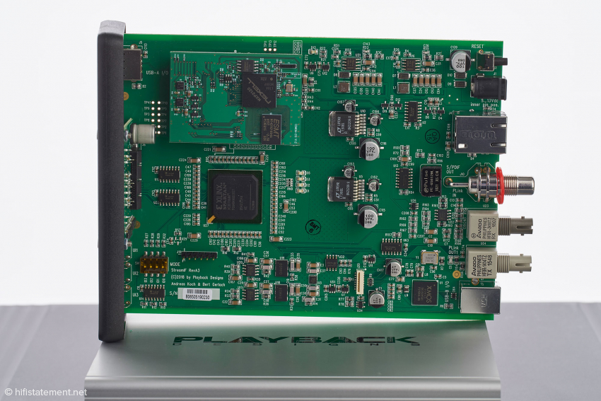 Auch im Stream-IF arbeitet ein XILINX-FPGA