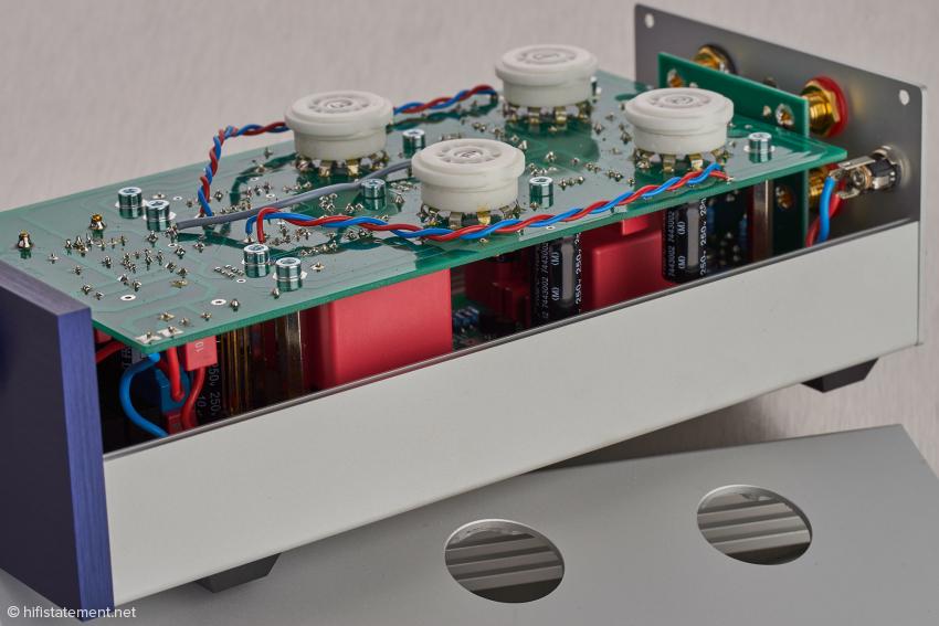 Kompakte Bauweise: das Innere der PhonoMaster