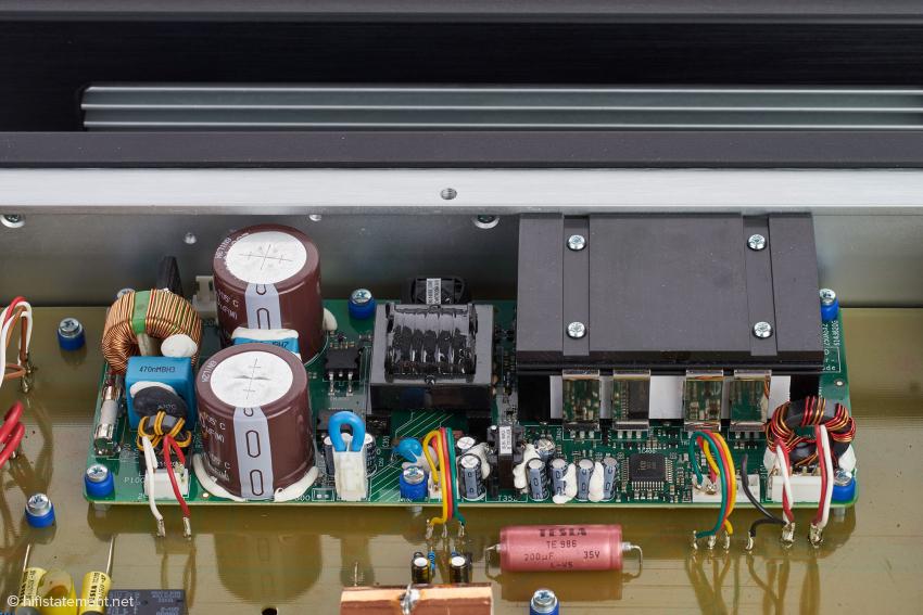 Beim Schaltverstärker setzt DAS ein Modul von ICE Power ein, das vom umfassenden DAS-Know-How in der Konfiguration und Steuerung profitiert
