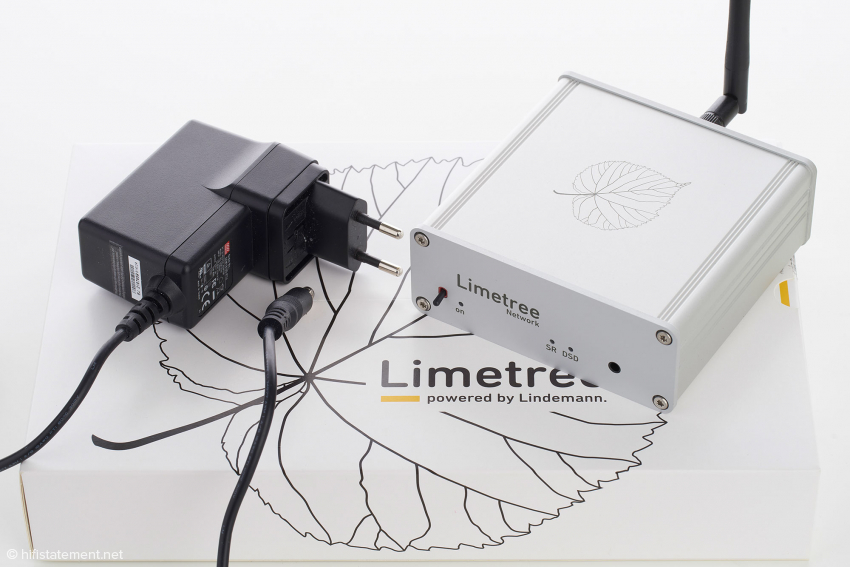The power supply comes from the medical sector and is specifically tuned to the Limetree, which is why it shouldn't be replaced carelessly for something else. The extra onboard filtering ensures a particularly low interference