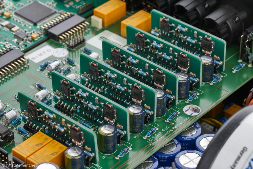 Das gibt es nirgendwo sonst: Nur SPL verwendet diese Voltair-Baugruppen