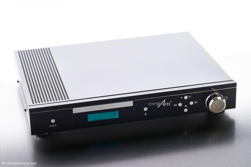 Von seinen Proportionen passt der EternalArts DP MkII sicher zu vielen anderen Hifi-Komponenten