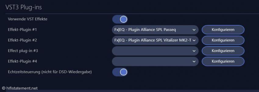 Die gleichzeitige Darstellung von Passeq und Vitalizer ermöglicht deren Bedienung im Spielbetrieb – siehe Screenshot oben