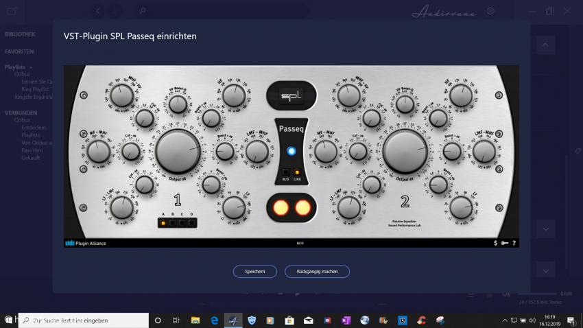 Das SPL Passeq-Plugin ist sehr sinnvoll, wenn es nicht um Effekte sondern um feinfühlige Klang-Optimierung geht