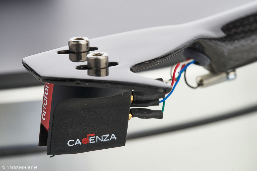 Highlight: der großartige Tonabnehmer Ortofon MC Cadenza Red ist im SuperPack enthalten