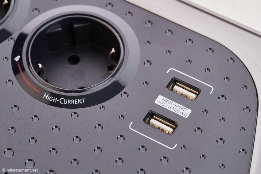 USB-A Hochgeschwindigkeitsladeanschlüsse