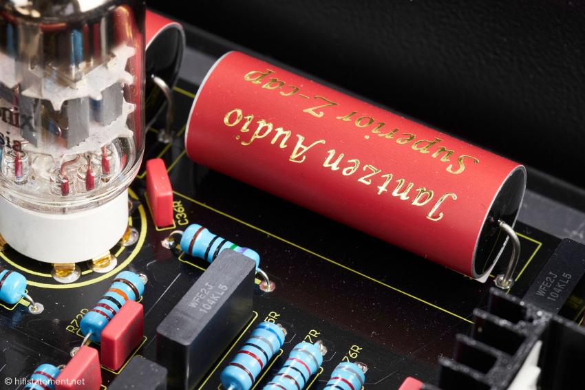 Hochwertiges Material garantiert Klangqualität und langes Leben