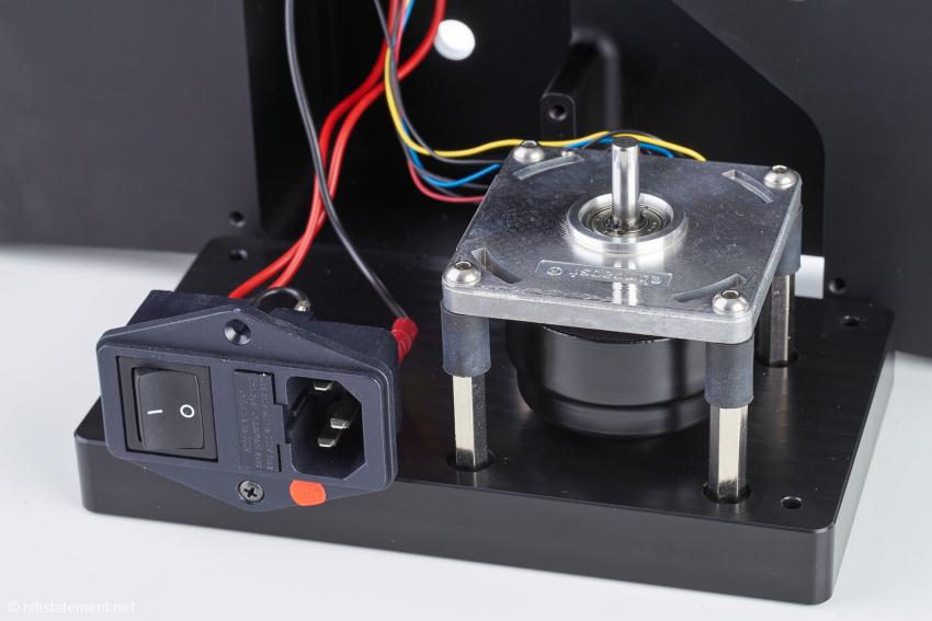 Der Pabst-Motor wird in dieser Variante speziell für TW-Acustic gefertigt